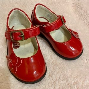 Stride Rite Shoes - Red - Size 4